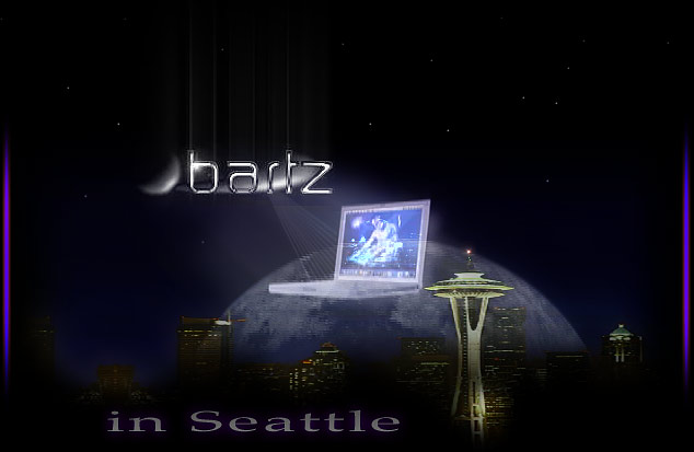 Bartz in Seattle graphic.